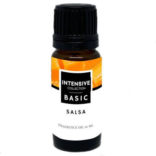 Intensive Collection Amber Basic fragrance oil in natural glass bottle 10 ml - Salsa